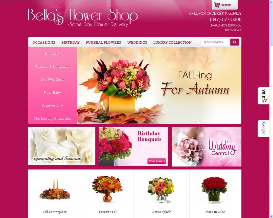 Bellas Flower Shop